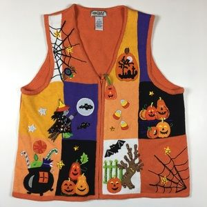 Ugly Halloween Sweater Vest